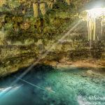 Los cenotes de Dzitnup, Xkeken y Samulá