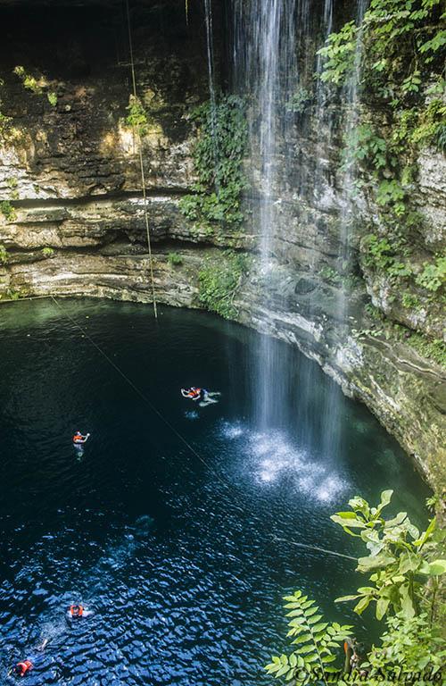Cenote Saamal, Hacienda Selva Maya