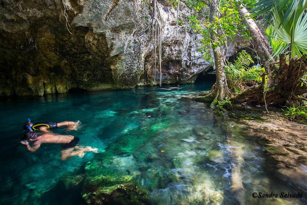 Grand Cenote, hermoso y popular