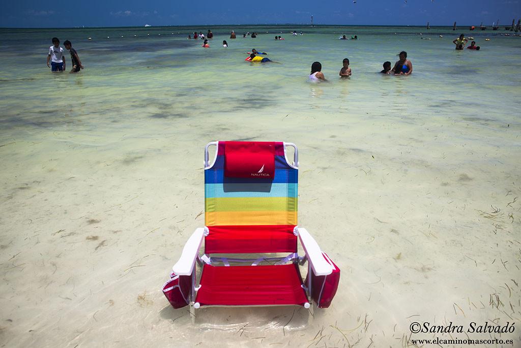 Playa Dos Perlas, Cancun. Zona Hotelera.