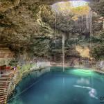 Cenote Hubiku, en la ruta turística