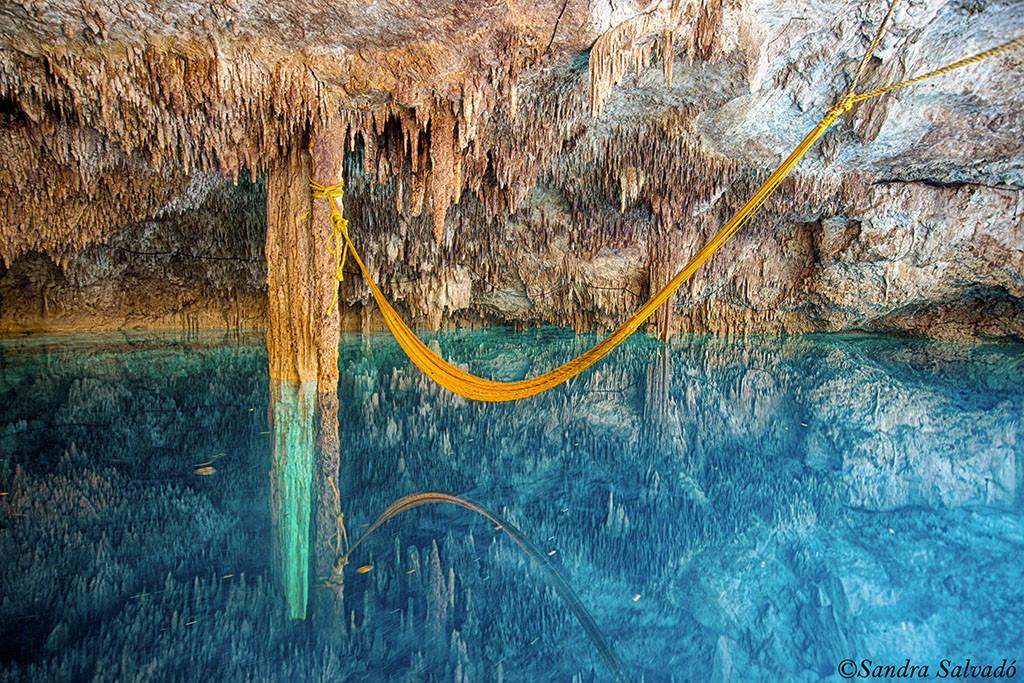 Cenote Kin Ha, Quintana Roo.