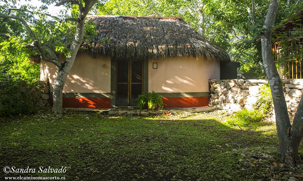Ripios, estilo casa maya tradicional