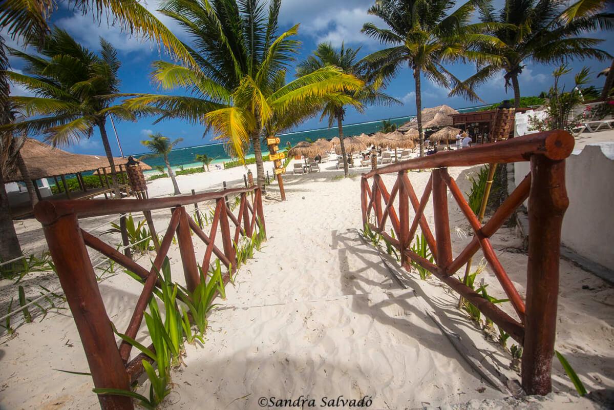 Puerto Morelos, un pueblo relajado