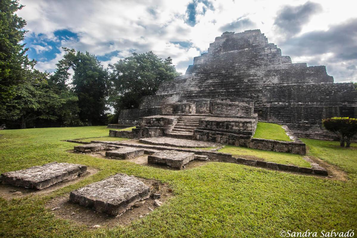 Zona arqueológica Chacchoben, Quintana Roo