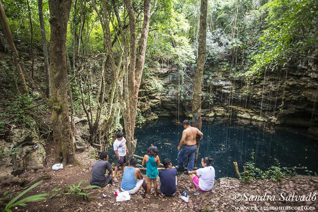 Cenote Hamtun, X-Pichil. Quintana Roo Mexico
