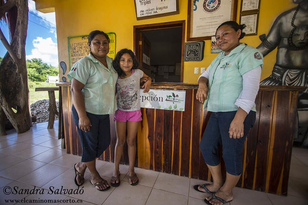 Juanita, Natasha y Margarita.