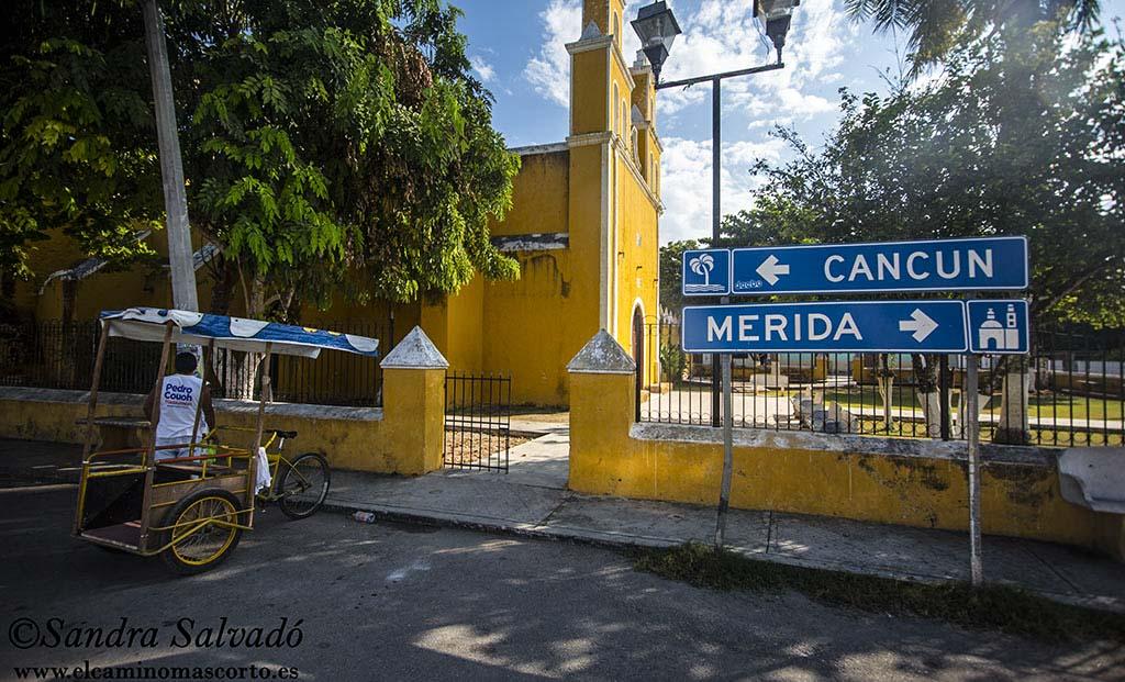 Por la libre de Mérida a Cancún