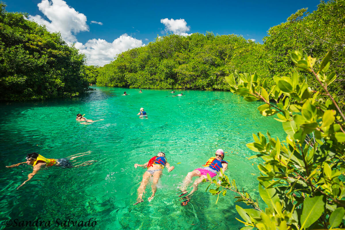 Casa Cenote, desvío a la playa