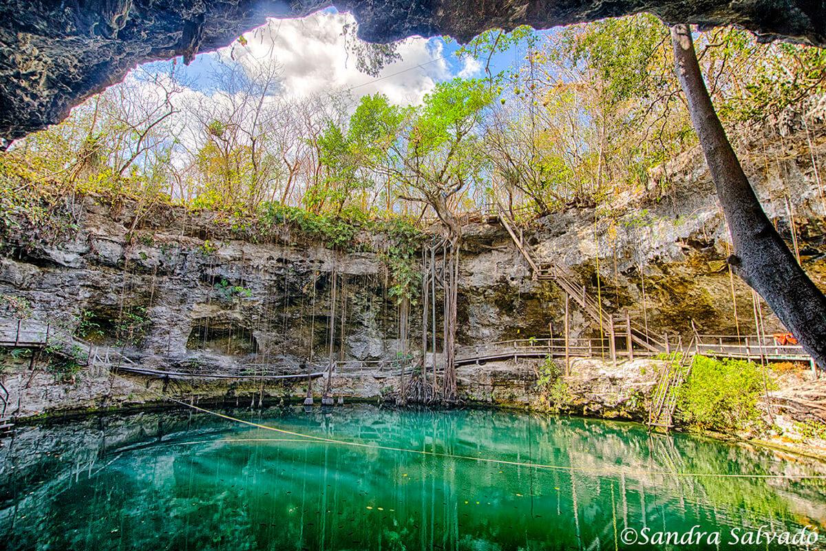 Cenote XCanché, Yucatan