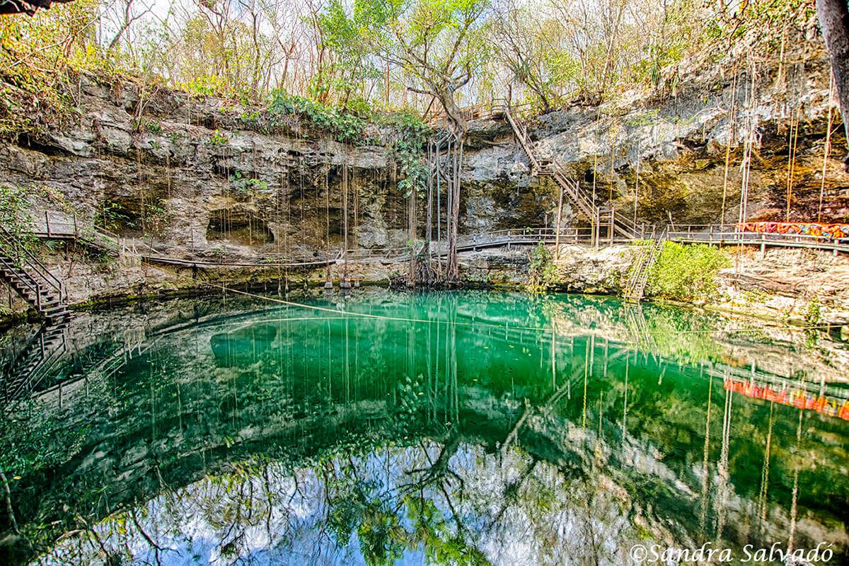 Cenote XCanché, combinación perfecta con Ek Balam