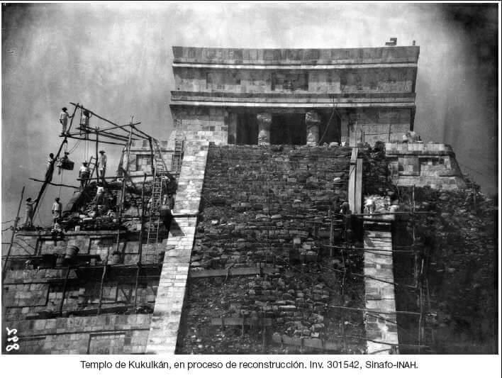 Resconstruccion Chichen Itza