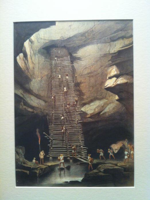 Lámina 20 de Catherwood: Pozo de Bolonchen