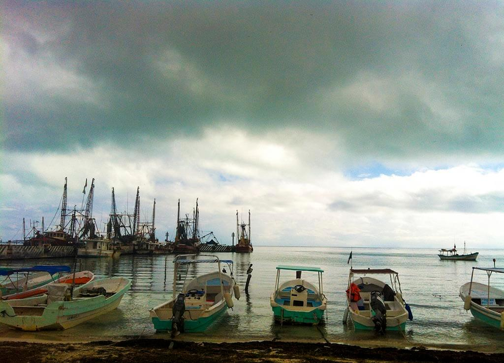 Puerto Juárez, barrio de sabor a sal