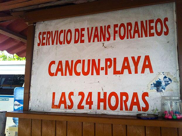 ¿Cómo ir de Cancún a Playa del Carmen y Tulum?