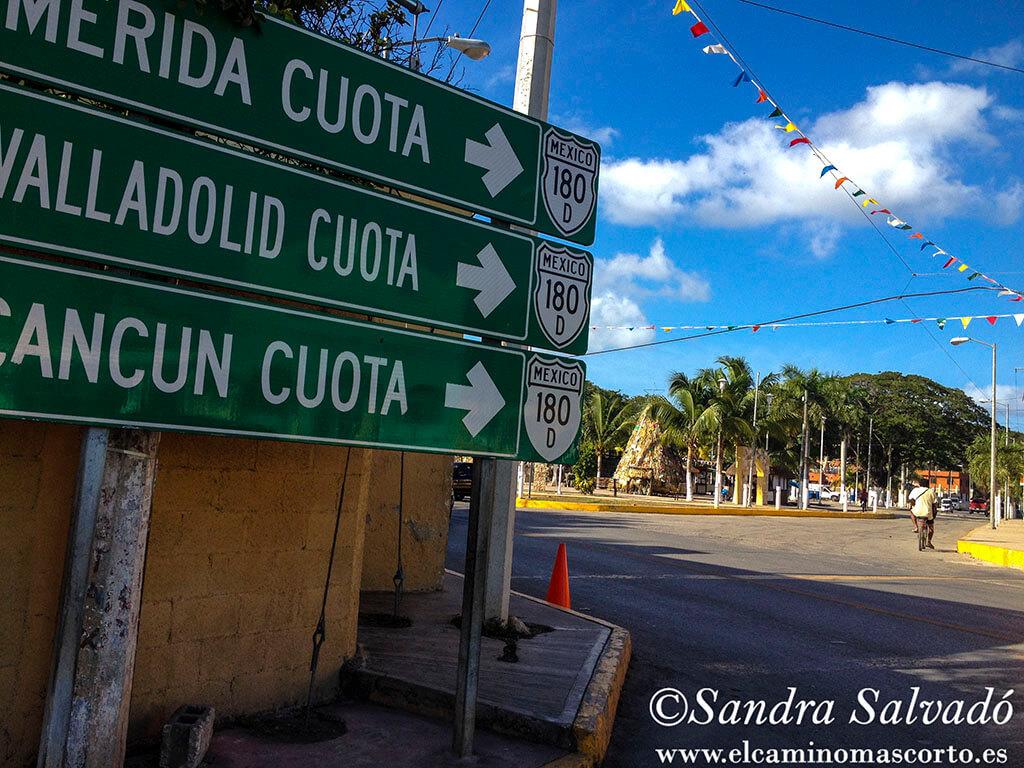 Pisté, a pie de Chichén Itzá