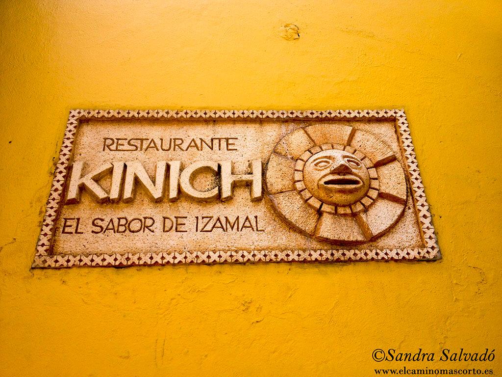 Restaurante Kinich, el clásico de Izamal