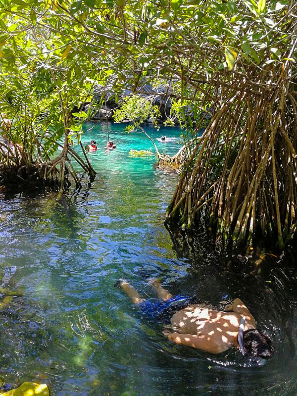 Cenote Cristalino, Quintana Roo