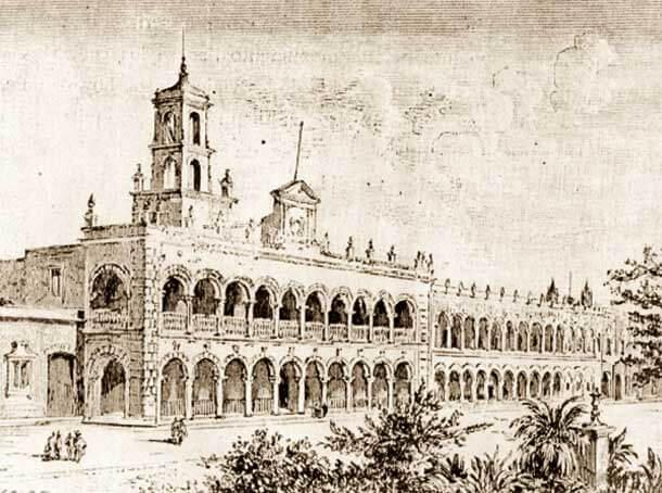 Palacio Municipal 1735. Fuente