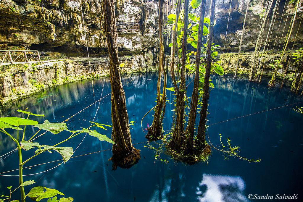 Hacienda San Lorenzo y cenote Oxman