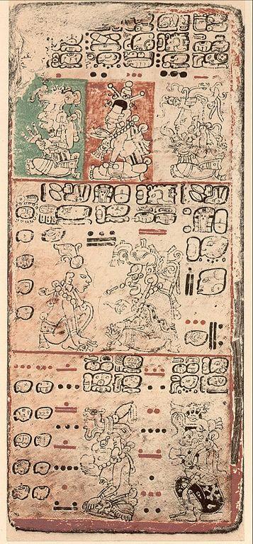 357px-Dresden_Codex_p09