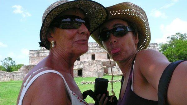 Con mi mami, la mejor viajera del vivir!