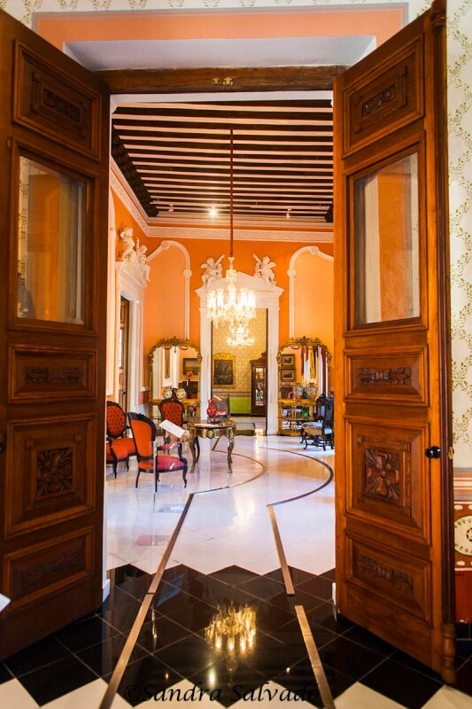 Casa de Montejo, Mérida, Yucatán, México.