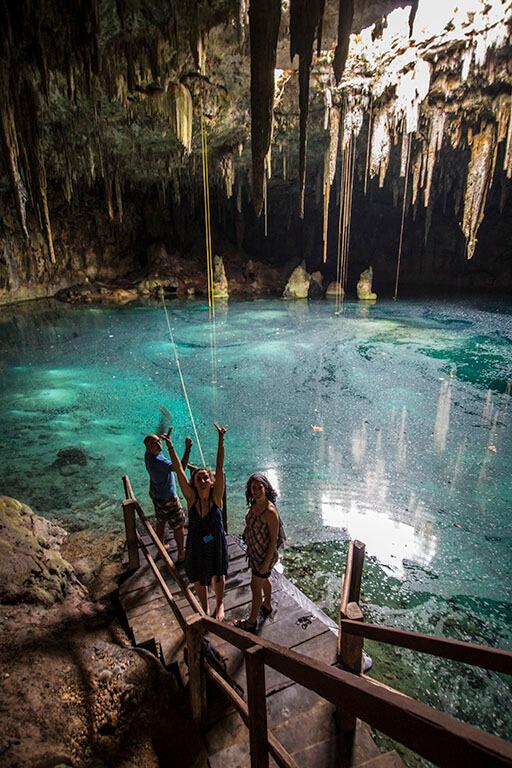 Gracias por un viaje fantástico Cancún Laguna del Pollo!