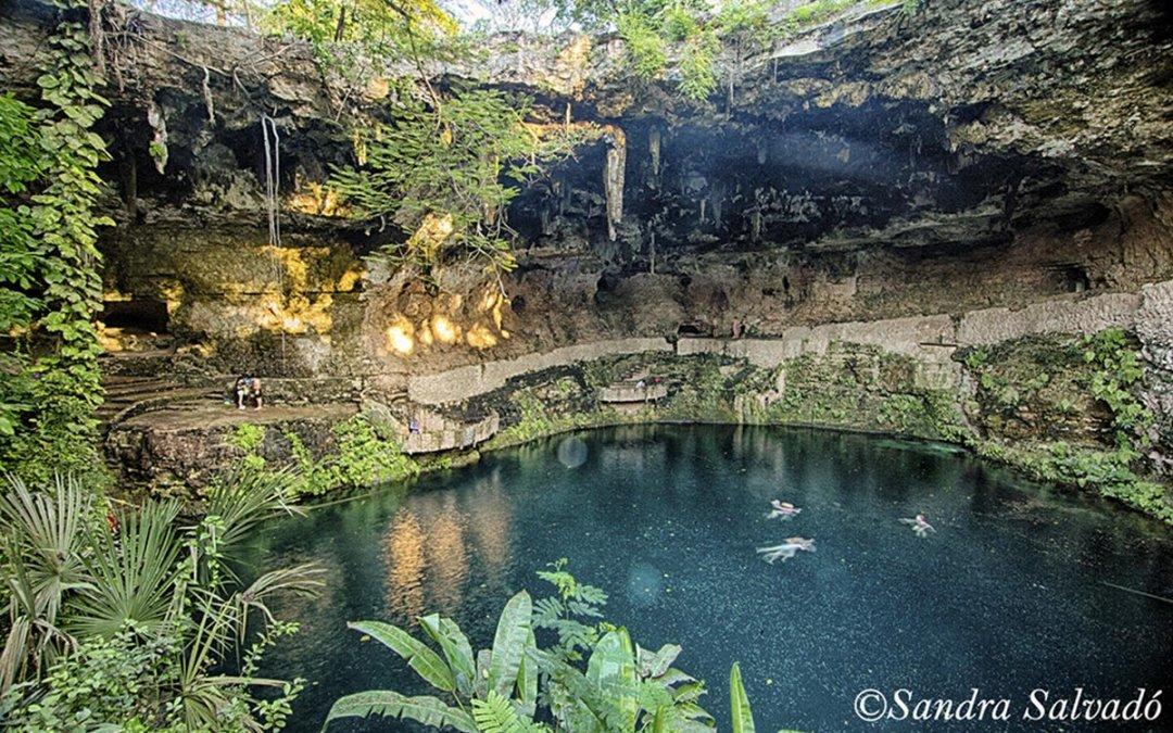 Cenote Zací, el corazón de agua de Valladolid