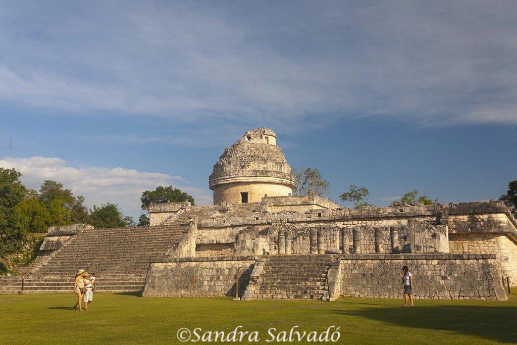 Zona arqueologica Chichen Itza, Yucatan