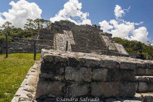 Zona arqueologica Chinkultic, Chiapas