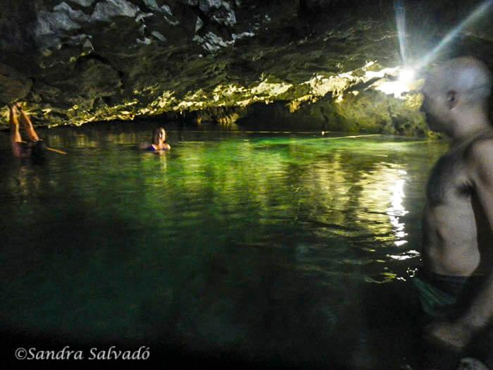 Cenote Chihuan, refrescarse por la libre