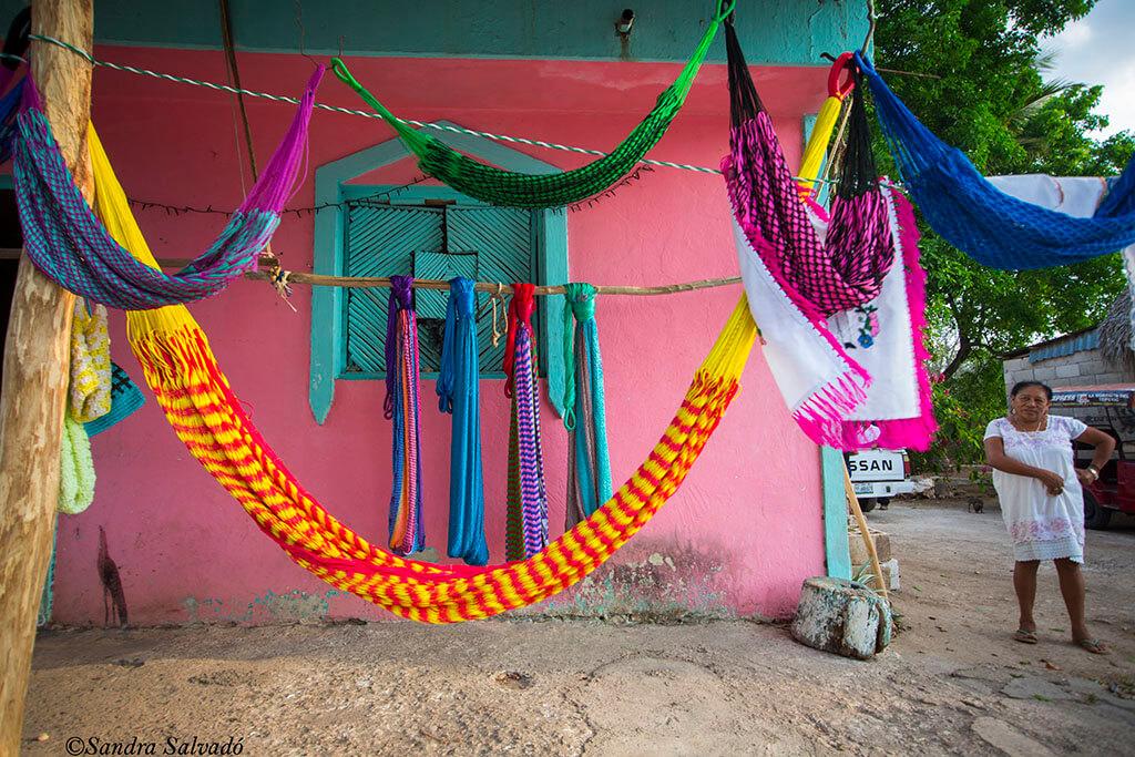 Ek Balam, Yucatan, hamacas
