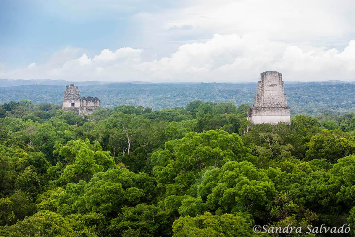 Archeological site Tikal, Guatemala.