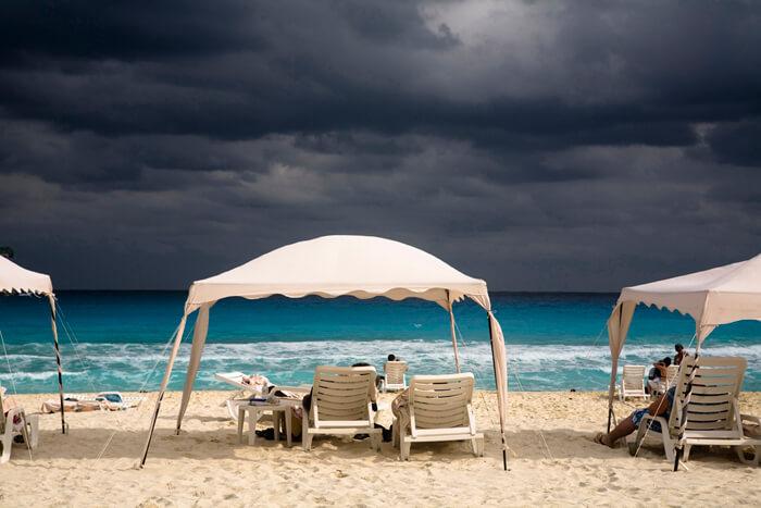 Playa de la zona hotelera