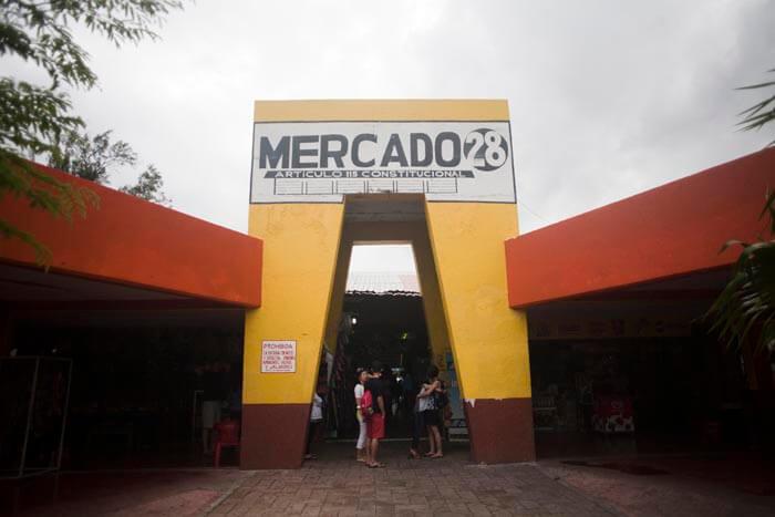 Mercado 28, souvenirs en Cancún