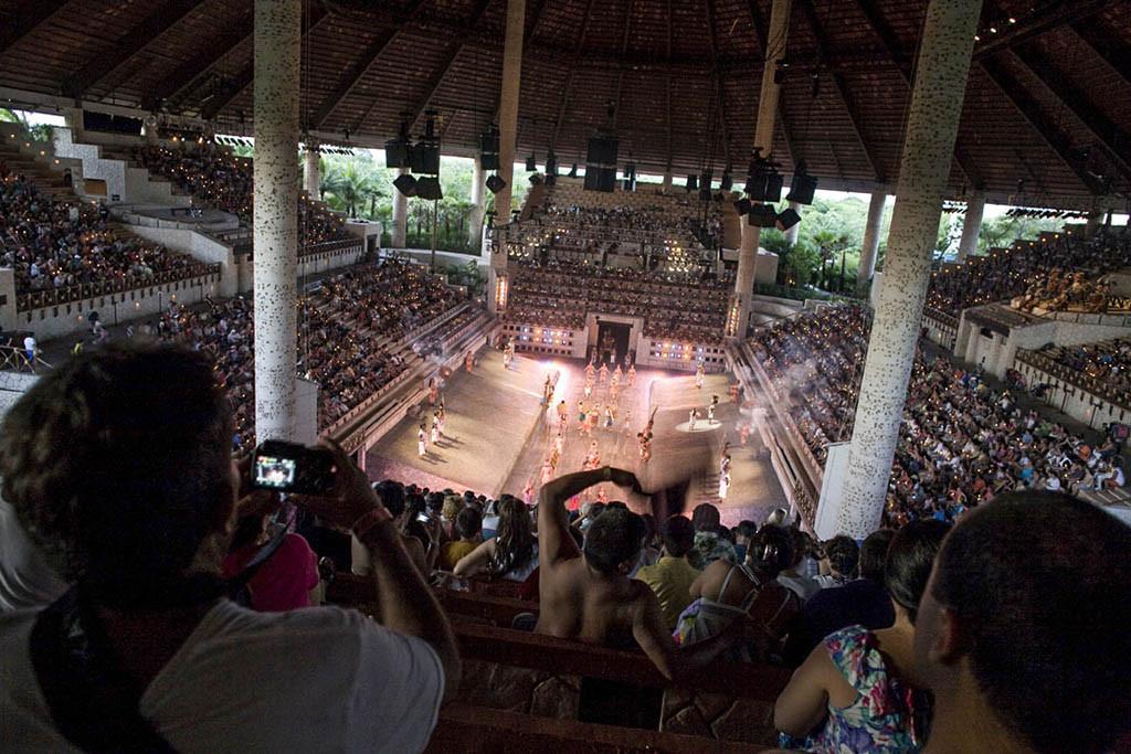 Xcaret Eco Theme Park, Playa del Carmen, Riviera Maya, México.
