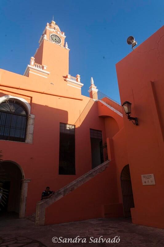 Palacio Municipal, Mérida, Yucatán, México.