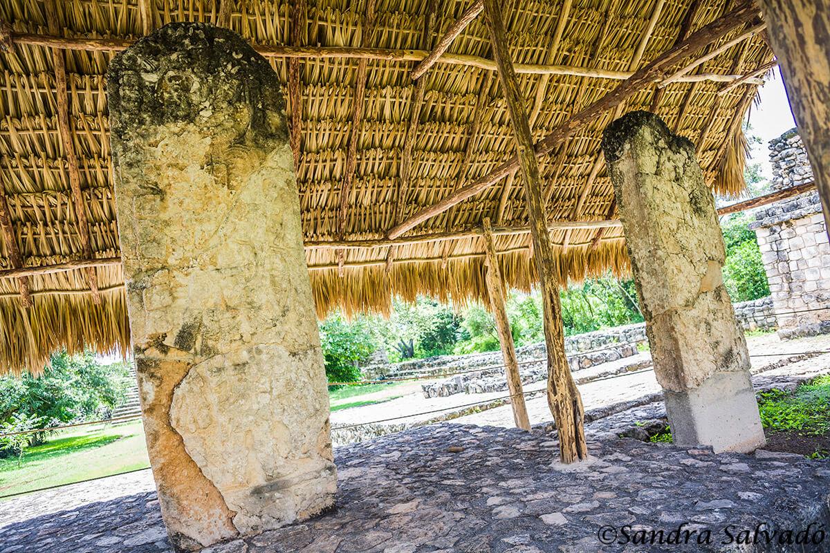 Zona arqueologica Ek Balam, Yucatan