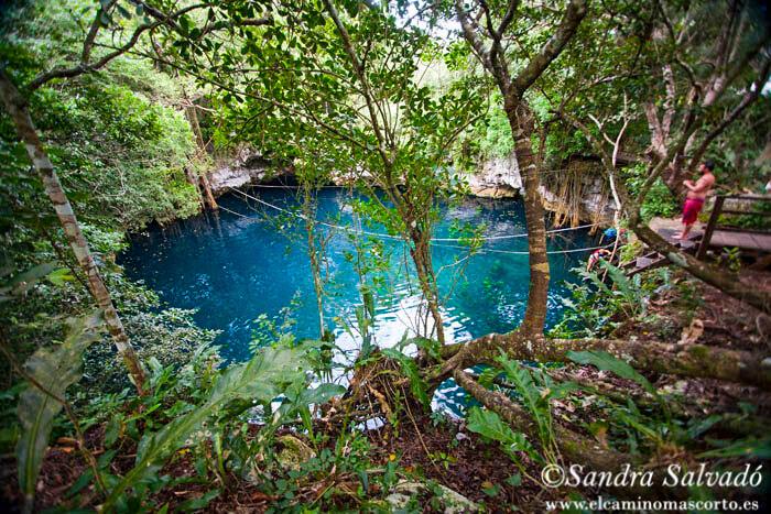 Cenote Lucero Verde, en la Ruta de los Cenotes