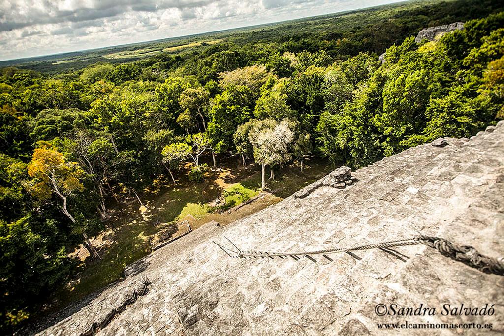 Zonas arqueológicas mayas de pago en la Península Yucatán