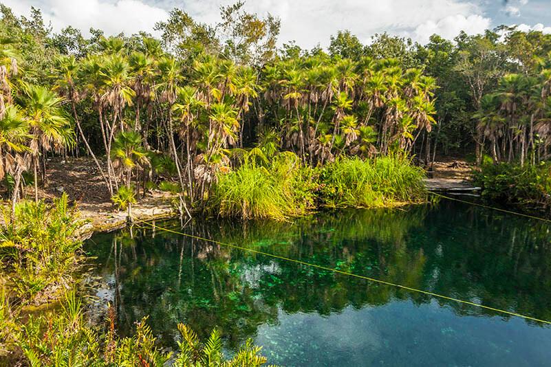 Cenote Cristal, Quintana Roo