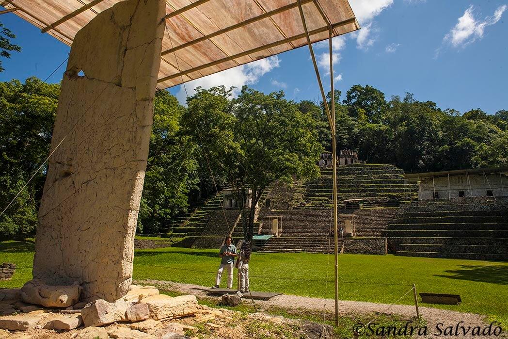 Zona arqueologica Bonampak, Chiapas