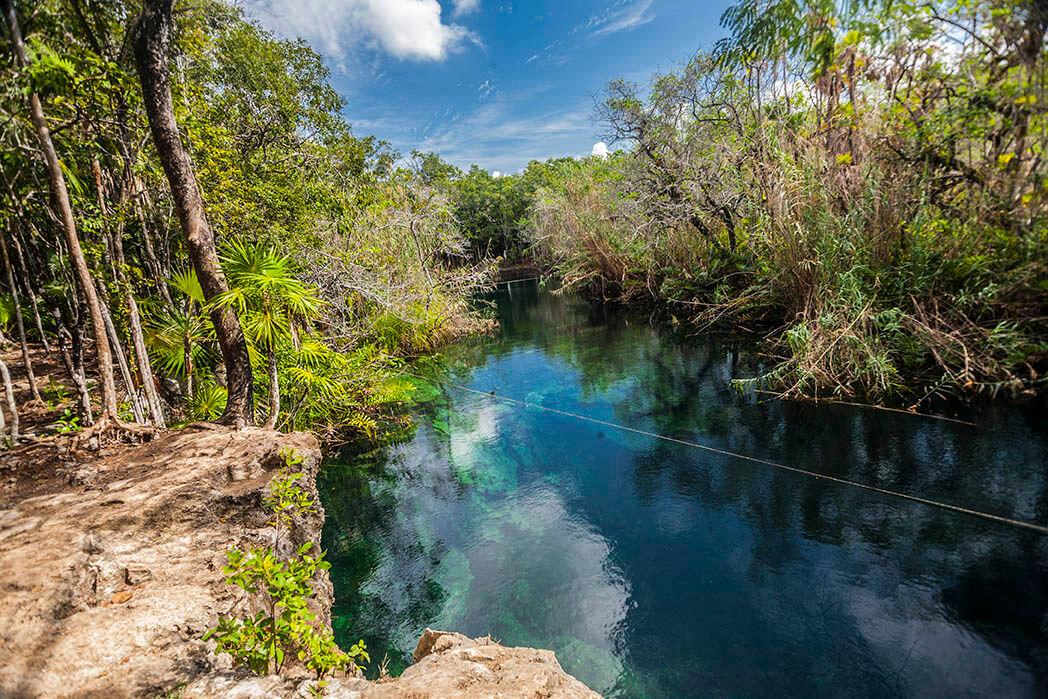 Cenote Escondido, Quintana Roo Tulum