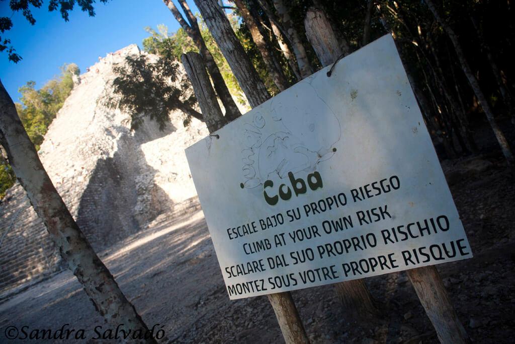Mayan arqueological site Cobá, Peninsula Yucatan, Mexico.