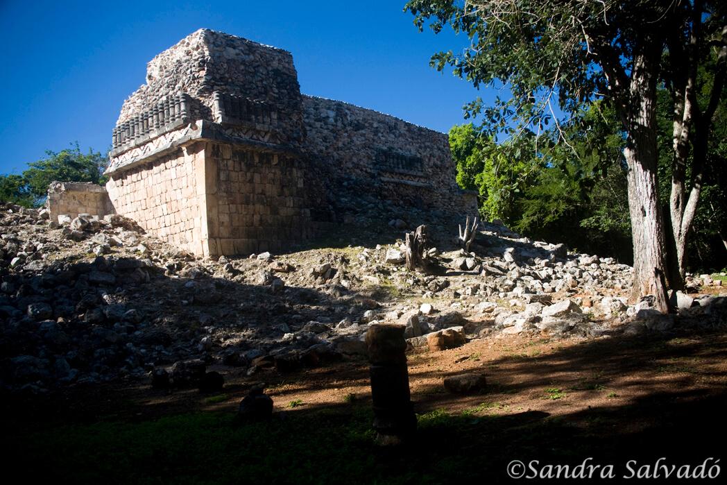 Archaeological site Xlapak, Puuc Route, Yucatan, Mexico