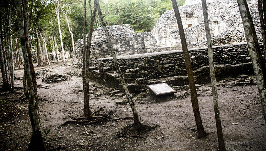 Xpuhil archaeological site, Yucatan, Mexico.