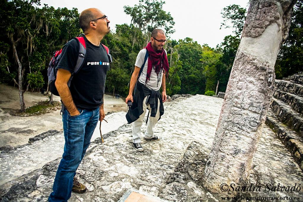 Archeological site Calakmul, Yucatan Peninsula, Mexico.
