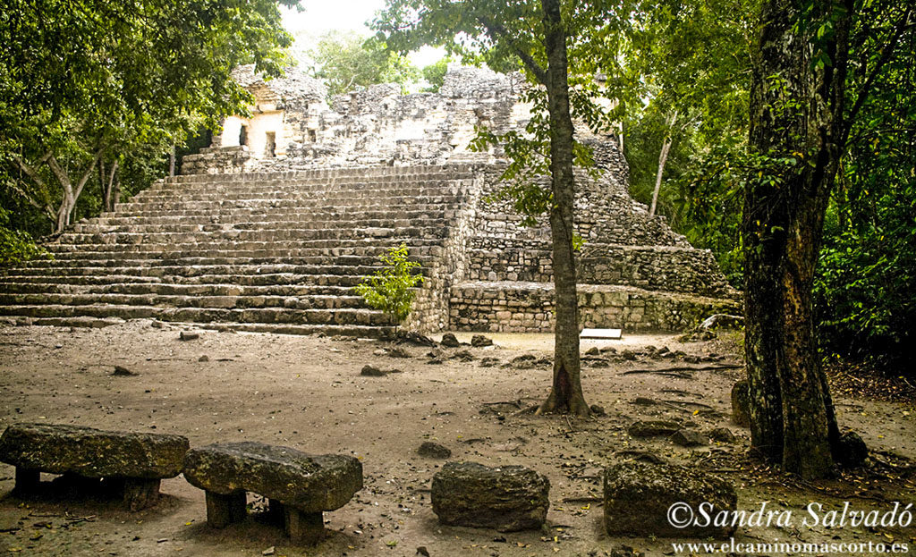 Calakmul archaeological site, Yucatan, Mexico.