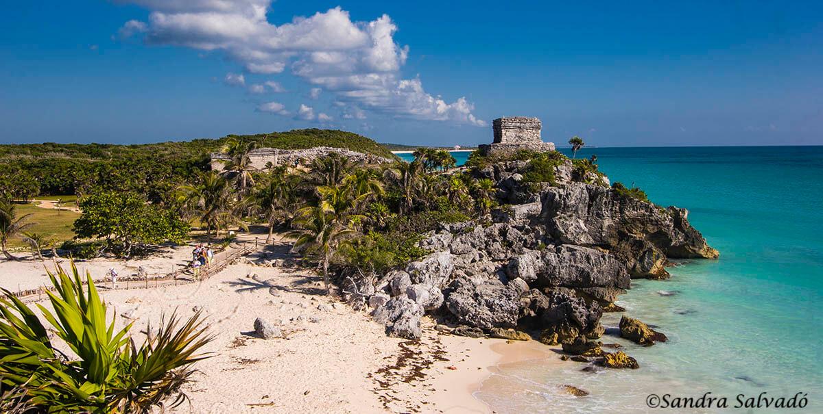 Zona arqueologica Tulum, Quintana Roo